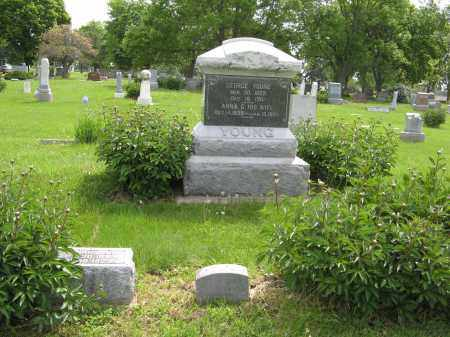 YOUNG, (FAMILY PLOT) - Dodge County, Nebraska | (FAMILY PLOT) YOUNG - Nebraska Gravestone Photos