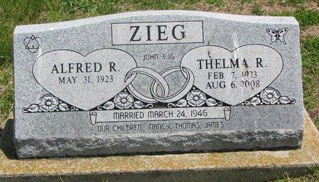 ZIEG, THELMA ROSE - Dodge County, Nebraska | THELMA ROSE ZIEG - Nebraska Gravestone Photos