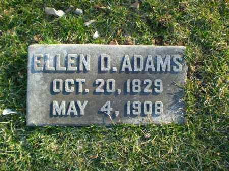 DOUGLAS ADAMS, ELLEN - Douglas County, Nebraska | ELLEN DOUGLAS ADAMS - Nebraska Gravestone Photos