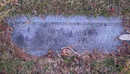ADKINS, CHARLES M - Douglas County, Nebraska | CHARLES M ADKINS - Nebraska Gravestone Photos