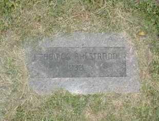AHLSTRAND, JOHN THOMAS - Douglas County, Nebraska | JOHN THOMAS AHLSTRAND - Nebraska Gravestone Photos