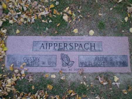 AIPPERSPACH, GUSTAV - Douglas County, Nebraska | GUSTAV AIPPERSPACH - Nebraska Gravestone Photos