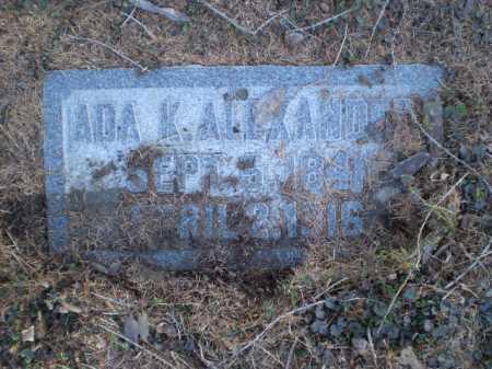 ALEXANDER, ADA K. - Douglas County, Nebraska | ADA K. ALEXANDER - Nebraska Gravestone Photos