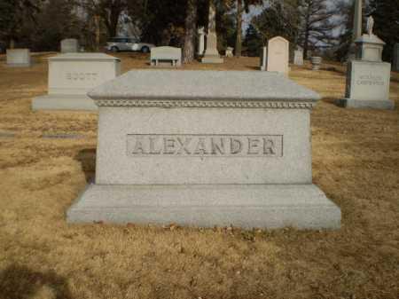 ALEXANDER, FAMILY - Douglas County, Nebraska | FAMILY ALEXANDER - Nebraska Gravestone Photos