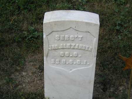 ALEXANDER, JNO. - Douglas County, Nebraska | JNO. ALEXANDER - Nebraska Gravestone Photos
