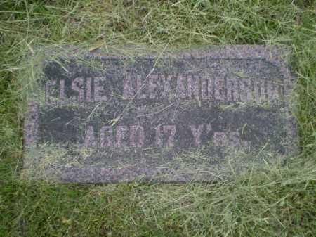 ALEXANDERSON, ELSIE - Douglas County, Nebraska   ELSIE ALEXANDERSON - Nebraska Gravestone Photos