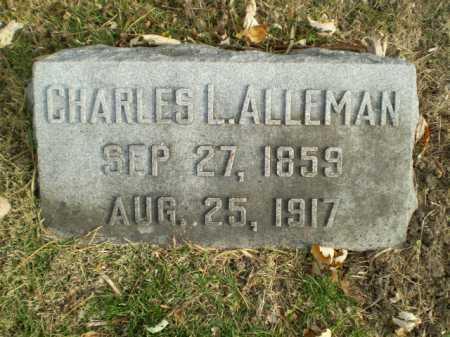 ALLEMAN, CHARLES L - Douglas County, Nebraska | CHARLES L ALLEMAN - Nebraska Gravestone Photos