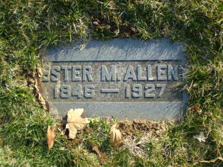 ALLEN, ESTER M. - Douglas County, Nebraska | ESTER M. ALLEN - Nebraska Gravestone Photos