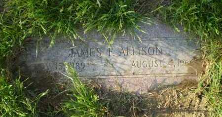 ALLISON, JAMES F. - Douglas County, Nebraska | JAMES F. ALLISON - Nebraska Gravestone Photos