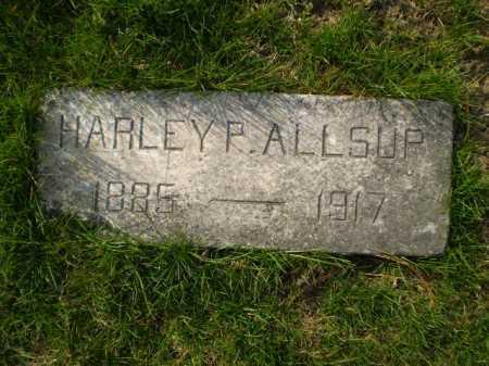 ALLSUP, HARLEY P. - Douglas County, Nebraska | HARLEY P. ALLSUP - Nebraska Gravestone Photos