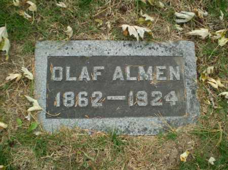 ALMEN, OLAF - Douglas County, Nebraska | OLAF ALMEN - Nebraska Gravestone Photos