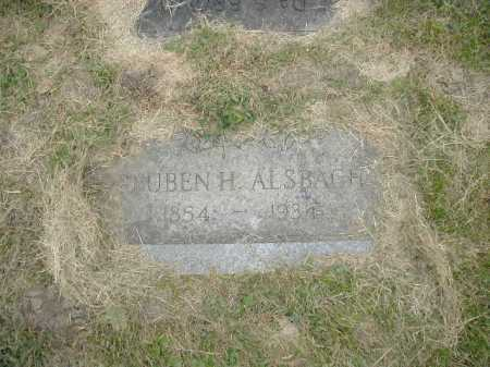 ALSBACH, REUBEN H. - Douglas County, Nebraska | REUBEN H. ALSBACH - Nebraska Gravestone Photos