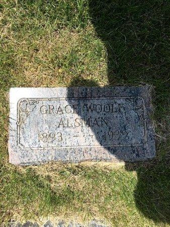 WOOLF ALSMAN, GRACE - Douglas County, Nebraska | GRACE WOOLF ALSMAN - Nebraska Gravestone Photos