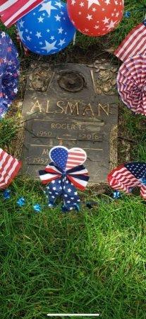 ALSMAN, ROGER - Douglas County, Nebraska | ROGER ALSMAN - Nebraska Gravestone Photos