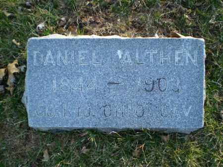 ALTHEN, DANIEL - Douglas County, Nebraska | DANIEL ALTHEN - Nebraska Gravestone Photos