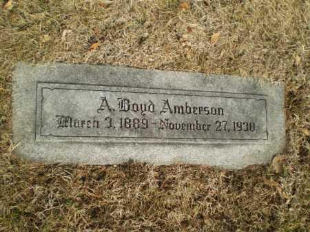 AMBERSON, ALEXANDER BOYD - Douglas County, Nebraska | ALEXANDER BOYD AMBERSON - Nebraska Gravestone Photos