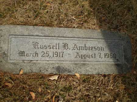 AMBERSON, RUSSELL B. - Douglas County, Nebraska | RUSSELL B. AMBERSON - Nebraska Gravestone Photos