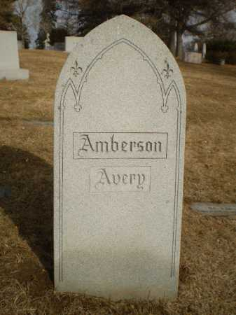 AMBERSON, FAMILY - Douglas County, Nebraska | FAMILY AMBERSON - Nebraska Gravestone Photos