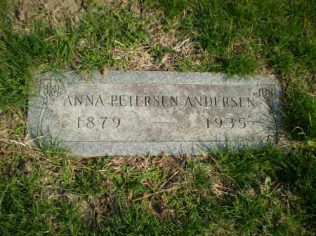 ANDERSEN, ANNA - Douglas County, Nebraska | ANNA ANDERSEN - Nebraska Gravestone Photos