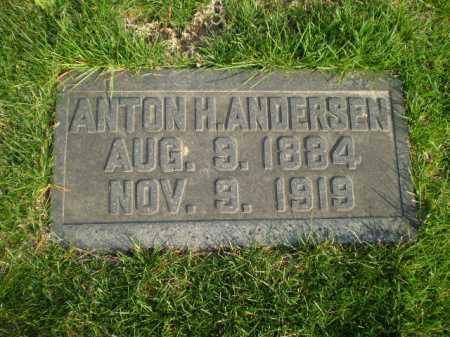 ANDERSEN, ANTON H. - Douglas County, Nebraska   ANTON H. ANDERSEN - Nebraska Gravestone Photos