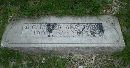 ANDERSEN, A CLIFFORD - Douglas County, Nebraska | A CLIFFORD ANDERSEN - Nebraska Gravestone Photos