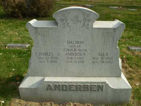 ANDERSEN, CHARLES J - Douglas County, Nebraska | CHARLES J ANDERSEN - Nebraska Gravestone Photos