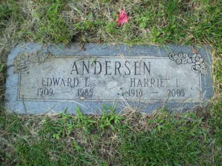 ANDERSEN, EDWARD L. - Douglas County, Nebraska | EDWARD L. ANDERSEN - Nebraska Gravestone Photos