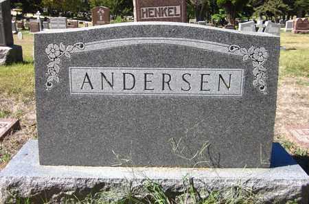 ANDERSEN, FAMILY - Douglas County, Nebraska | FAMILY ANDERSEN - Nebraska Gravestone Photos