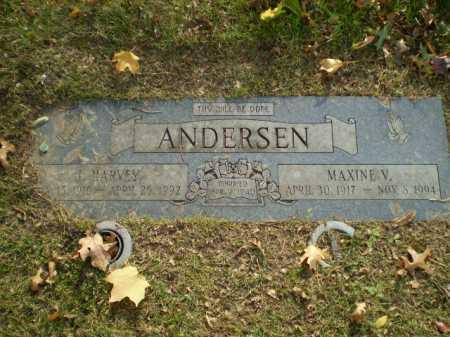 ANDERSEN, J HARVEY - Douglas County, Nebraska | J HARVEY ANDERSEN - Nebraska Gravestone Photos