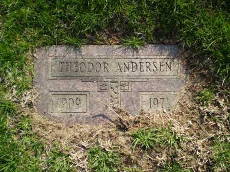 ANDERSEN, THEODOR - Douglas County, Nebraska   THEODOR ANDERSEN - Nebraska Gravestone Photos