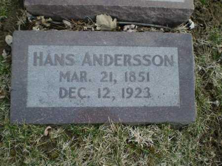 ANDERSSON, HANS - Douglas County, Nebraska | HANS ANDERSSON - Nebraska Gravestone Photos
