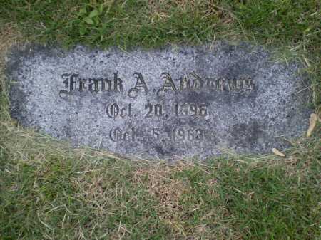 ANDREWS, FRANK A - Douglas County, Nebraska   FRANK A ANDREWS - Nebraska Gravestone Photos