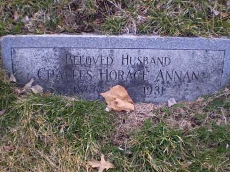 ANNAN, CHARLES HORACE - Douglas County, Nebraska | CHARLES HORACE ANNAN - Nebraska Gravestone Photos