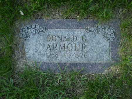 ARMOUR, DONALD G. - Douglas County, Nebraska | DONALD G. ARMOUR - Nebraska Gravestone Photos