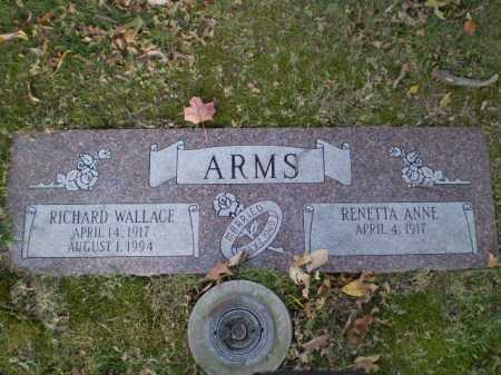 ARMS, RICHARD WALLACE - Douglas County, Nebraska | RICHARD WALLACE ARMS - Nebraska Gravestone Photos