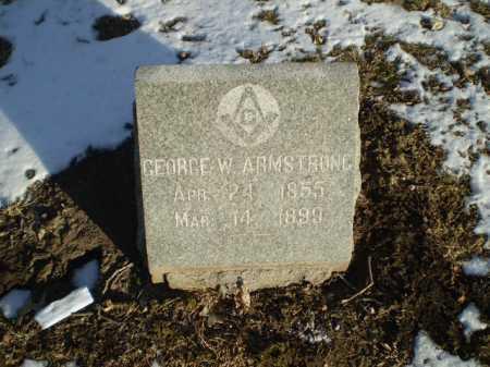 ARMSTRONG, GEORGE W. - Douglas County, Nebraska | GEORGE W. ARMSTRONG - Nebraska Gravestone Photos