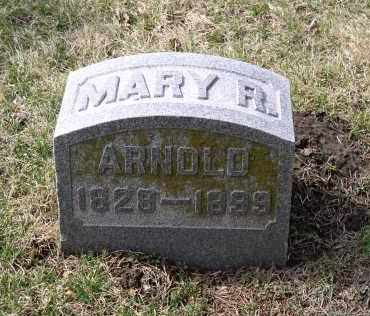 ARNOLD, MARY R. - Douglas County, Nebraska | MARY R. ARNOLD - Nebraska Gravestone Photos
