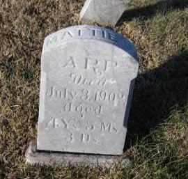ARP, MATTIE D. - Douglas County, Nebraska   MATTIE D. ARP - Nebraska Gravestone Photos