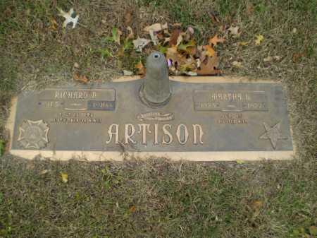 ARTISON, RICHARD N - Douglas County, Nebraska | RICHARD N ARTISON - Nebraska Gravestone Photos
