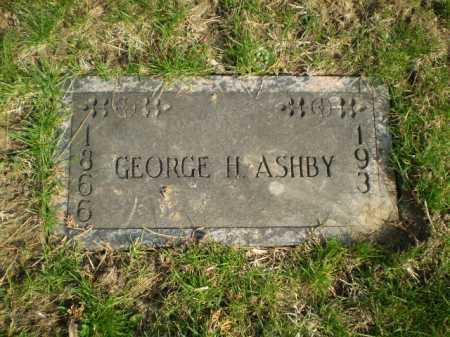 ASHBY, GEORGE H. - Douglas County, Nebraska   GEORGE H. ASHBY - Nebraska Gravestone Photos