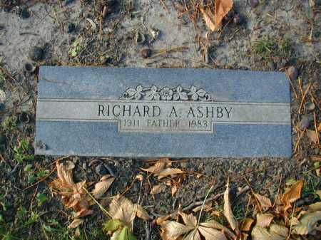 ASHBY, RICHARD A. - Douglas County, Nebraska | RICHARD A. ASHBY - Nebraska Gravestone Photos