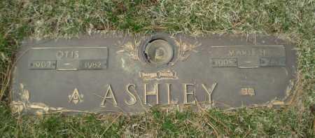 ASHLEY, OTIS - Douglas County, Nebraska | OTIS ASHLEY - Nebraska Gravestone Photos