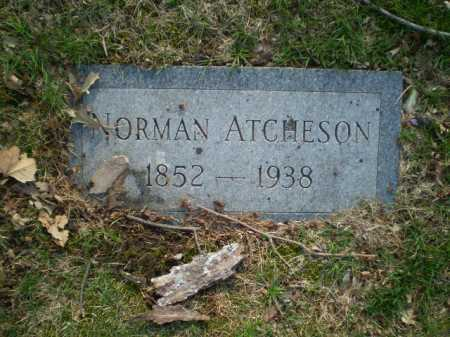 ATCHESON, NORMAN - Douglas County, Nebraska | NORMAN ATCHESON - Nebraska Gravestone Photos