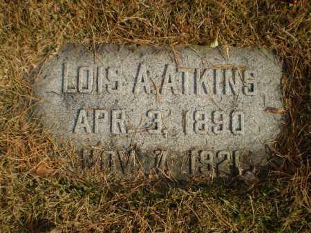 ALLEMAN ATKINS, LOIS - Douglas County, Nebraska   LOIS ALLEMAN ATKINS - Nebraska Gravestone Photos