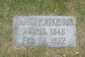 ATKISSON, JAMES P - Douglas County, Nebraska | JAMES P ATKISSON - Nebraska Gravestone Photos