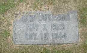 ATKISSON, JOHN - Douglas County, Nebraska | JOHN ATKISSON - Nebraska Gravestone Photos