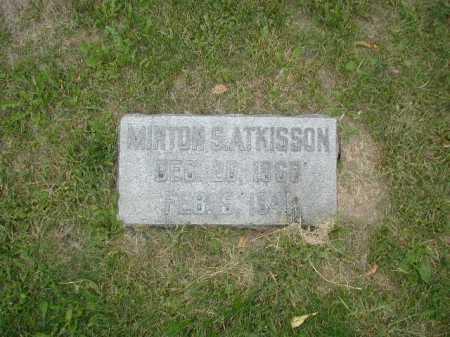 ATKISSON, MINTON S - Douglas County, Nebraska | MINTON S ATKISSON - Nebraska Gravestone Photos