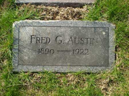 AUSTIN, FRED G. - Douglas County, Nebraska   FRED G. AUSTIN - Nebraska Gravestone Photos
