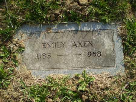 AXEN, EMILY - Douglas County, Nebraska | EMILY AXEN - Nebraska Gravestone Photos