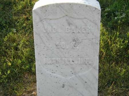 BAKER, JOHN - Douglas County, Nebraska | JOHN BAKER - Nebraska Gravestone Photos
